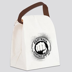 3 Krav Maga Canvas Lunch Bag