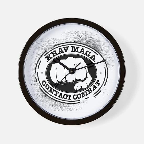 3 Krav Maga Wall Clock