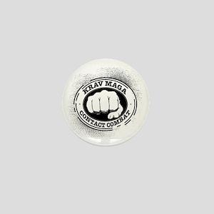3 Krav Maga Mini Button