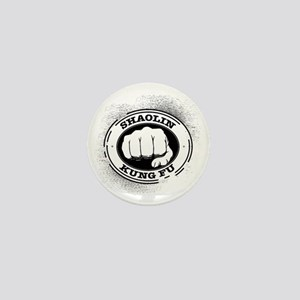 4 Shaolin Kung Fu Mini Button
