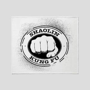 4 Shaolin Kung Fu Throw Blanket