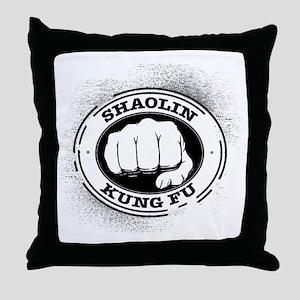 4 Shaolin Kung Fu Throw Pillow