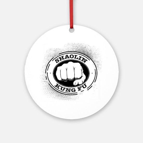 4 Shaolin Kung Fu Round Ornament