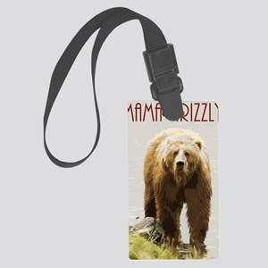 Mama Grizzly Large Luggage Tag