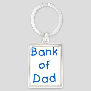 Bank of dad Portrait Keychain