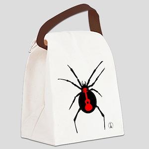 Ukulele Spider Canvas Lunch Bag