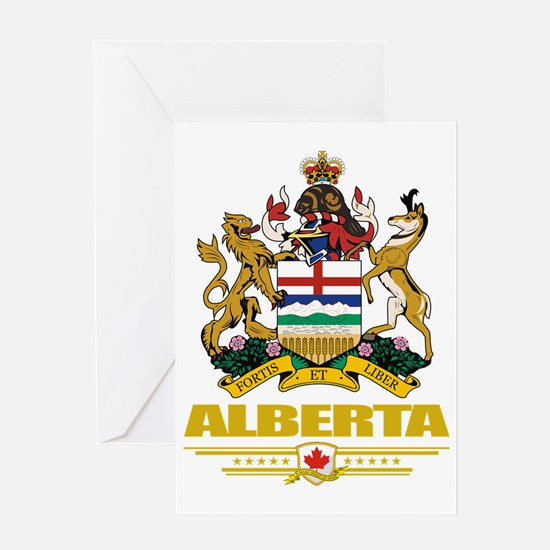 Alberta (Flag 10) Greeting Card