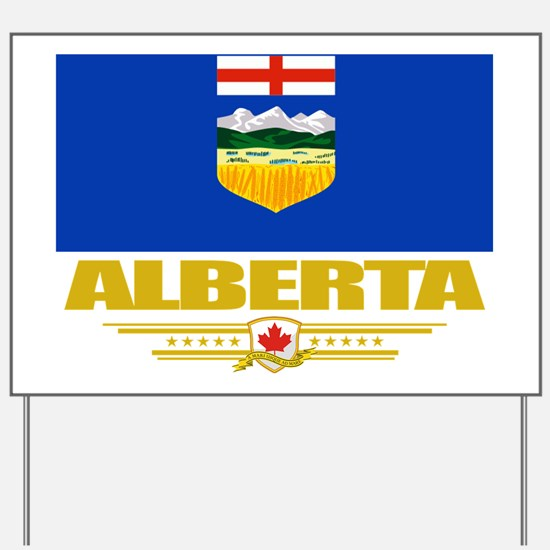 Alberta Flag (Flag 10) Yard Sign