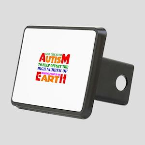 Autism Rectangular Hitch Cover
