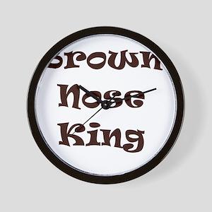 Brown nose Wall Clock