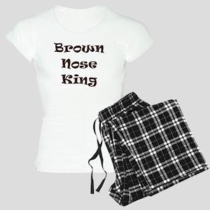 Brown nose Women's Light Pajamas