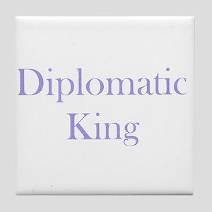 Diplomatic Tile Coaster