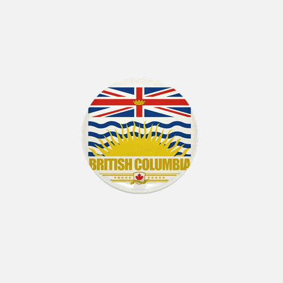 British Columbia Flag (Flag 10) Mini Button