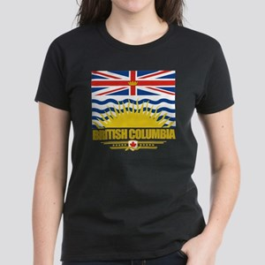 British Columbia Flag (Flag 1 Women's Dark T-Shirt