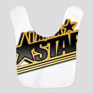 i am a star Polyester Baby Bib