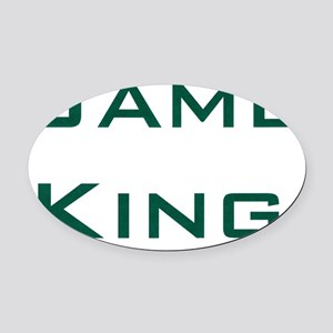 Game Oval Car Magnet