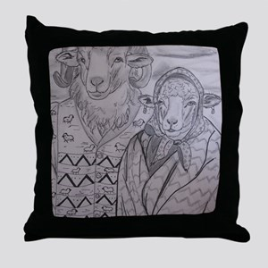 Going To Gallup Throw Pillow