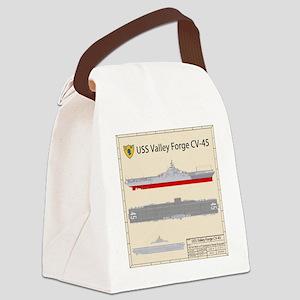 Essex-ValleyForge-Back Canvas Lunch Bag