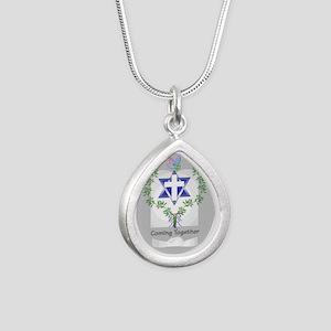 big_roots Silver Teardrop Necklace