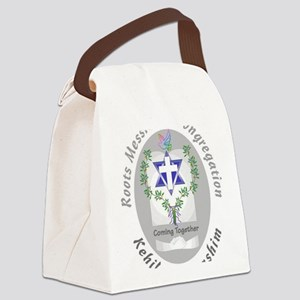 big_roots Canvas Lunch Bag