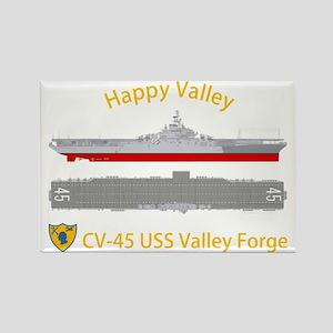 Essex-ValleyForge-Dk-Front Rectangle Magnet