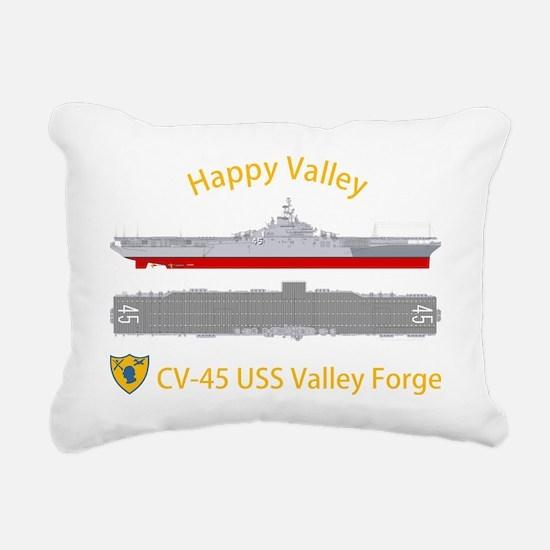 Essex-ValleyForge-Dk-Fro Rectangular Canvas Pillow