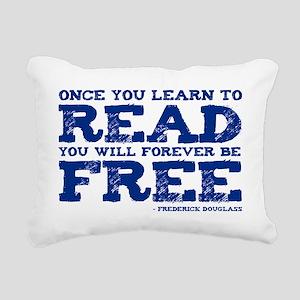 FOREVER FREE Rectangular Canvas Pillow