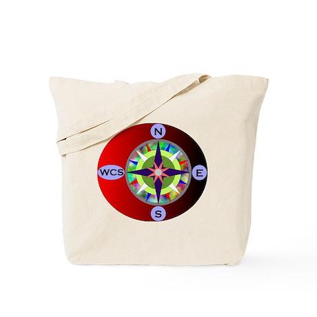 wcs compass 2 Tote Bag