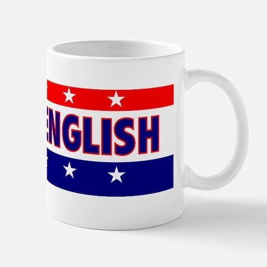 BumperStickerSpeakEnglish Mug