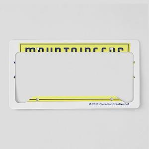 WVA_Motto_CafePress_pocket License Plate Holder