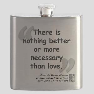 Alvarez Love Quote Flask