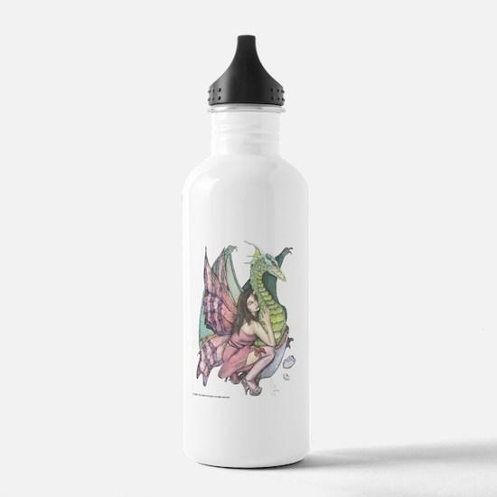 Hatchling print Water Bottle