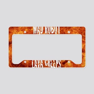 LAva creeps lap top skin License Plate Holder