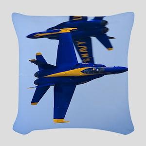 CP.Blues_380.16x20.banner Woven Throw Pillow