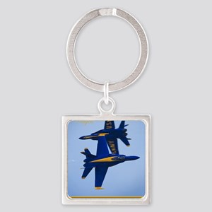 CP.Blues_380.16x20.banner Square Keychain
