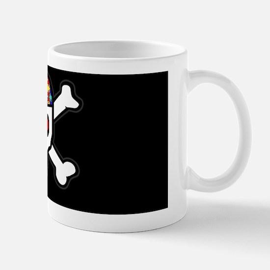 AUTskull-blkbg-wide Mug