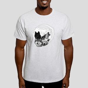 Wolves Moon 3 Light T-Shirt