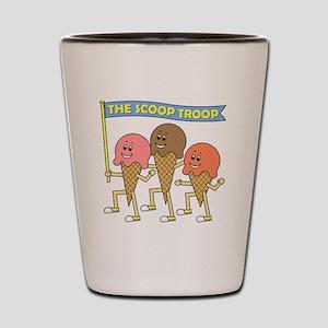 scoop_troop_dark_shirts Shot Glass