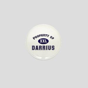 Property of darrius Mini Button