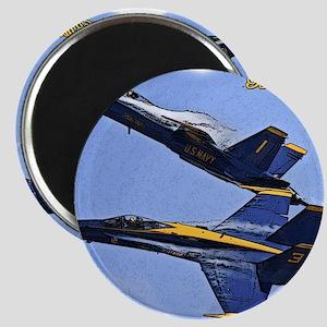 CP.Blues_142.16x20.posterize2 Magnet