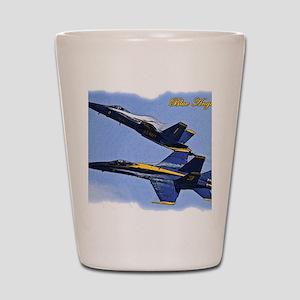 CP.Blues_142.16x20.posterize2 Shot Glass