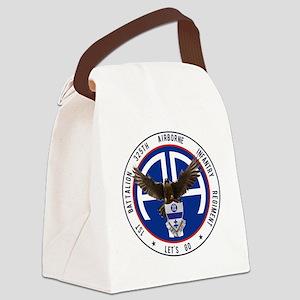 Falcon v1 - 1st-325th Canvas Lunch Bag