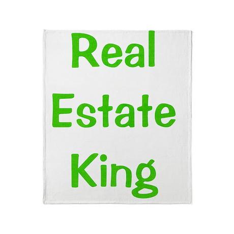 Real estate Throw Blanket