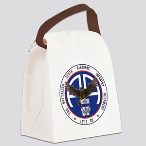 Falcon v1 - 2nd-325th Canvas Lunch Bag