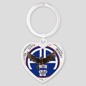 Falcon v1 - 2nd-325th Heart Keychain