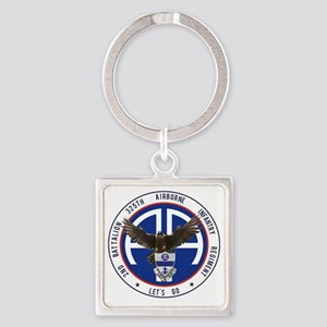 Falcon v1 - 2nd-325th Square Keychain