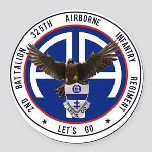 Falcon v1 - 2nd-325th Round Car Magnet