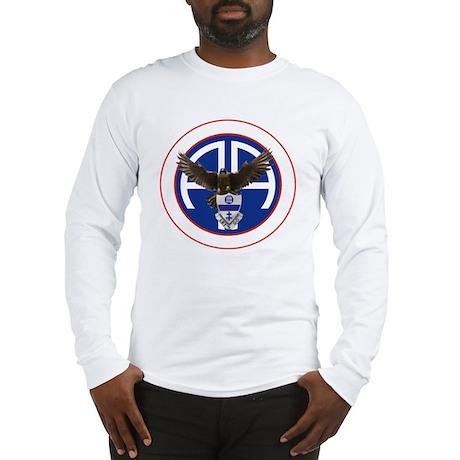 Falcon v1 - 2nd-325th - white Long Sleeve T-Shirt