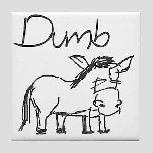 Dumb_ass Tile Coaster