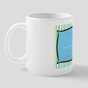 boyyardsignbluegreenbrown Mug
